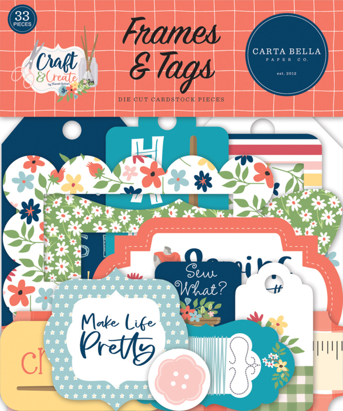 Craft & Create Frames & Tags