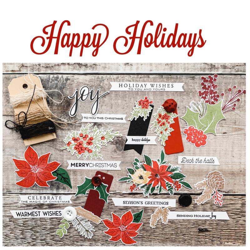 Happy Holidays Mini Kit