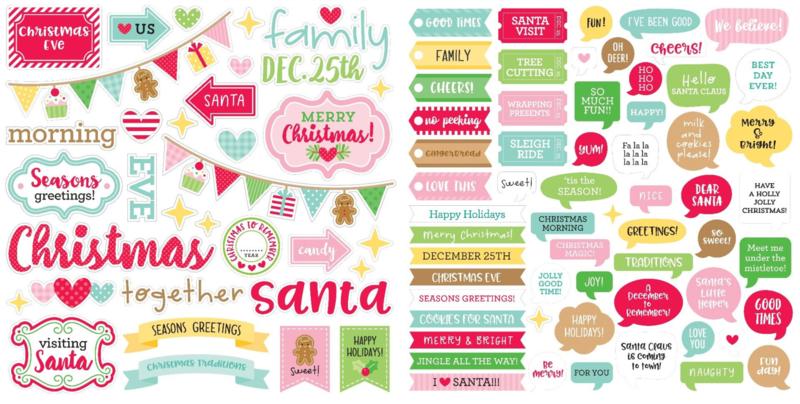 Doodlebug Design Christmas Magic Chit Chat (6527)
