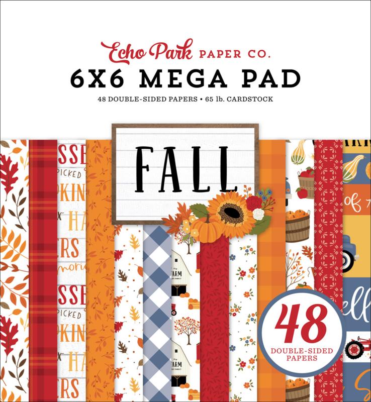 "Fall Cardmakers 6x6"" Mega pad"