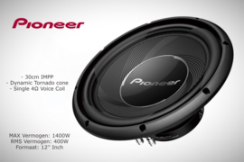 Pioneer TS-A30S4 Subwoofer *ringschade*