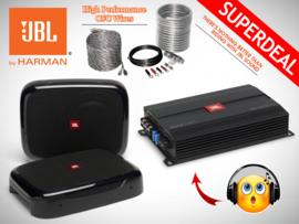 JBL Fuse Subwoofers + JBL Monoblock + OFC Kabelset