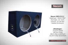 2x28L Sealed Enclosure