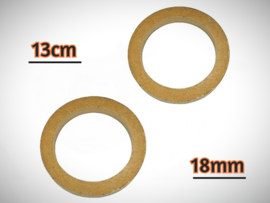 13cm Speakerringen 18mm MDF