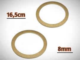 16,5cm Speakerringen 8mm MDF