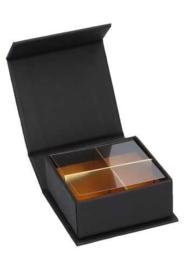 Praline doosje zwart - 50 stuks
