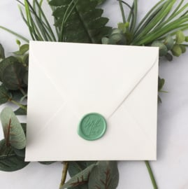 WAX SEALS - WITH LOVE - SOFT GREEN