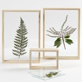 Dubbele glazen lijst - A4