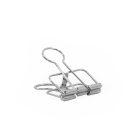 Binder Clips S silver - 50 st