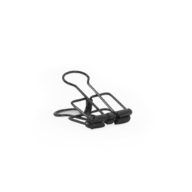 Binder Clips S black - 50 st