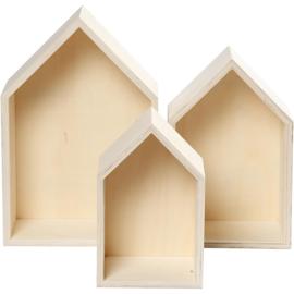 Huisjes - set van 3