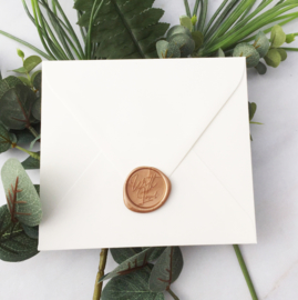 WAX SEALS - WITH LOVE - ROSE GOLD