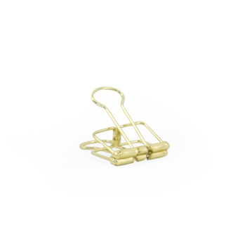Binder clips S gold - 50 st