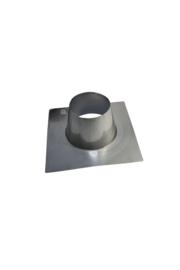 DW 150/200 dakplaat plat 00-10 graden RVS ZWART