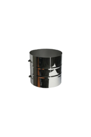 Isotube Plus 150/200 klemband 200 mm ZWART