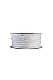 Glasvezelkoord rond 04 mm rol 100 meter wit