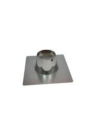 DW 200/250 dakplaat plat 00-10 graden RVS