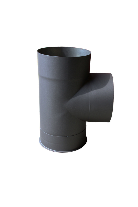 EW 150 0,6 mm T-stuk inclusief dop antraciet