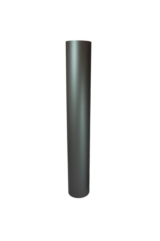 EW 150 0,6 mm sectie 1000 mm zonder verjonging antraciet