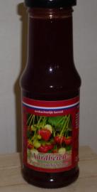Ambachtelijke Aardbeien vruchtensaus 200 ml De Fruitschuur