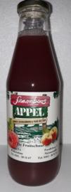 Framboos-appelsap De Fruitschuur 0,75 ltr