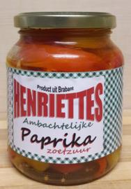 Henriëttes Paprika zoetzuur 350 ml