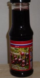 Ambachtelijke Kersen vruchtensaus 200 ml De Fruitschuur