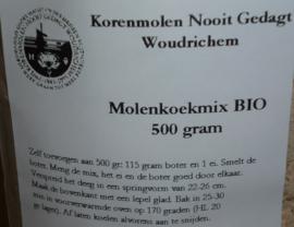 Woerkumse Molenkoekmix  500 gr. Nooit Gedagt