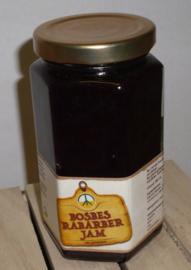 Bosbessen Rabarber jam De Laarhoeve 280 ml
