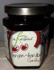 Ambachtelijke Kersen-Aardbeien confiture 190 ml De Kersenhof