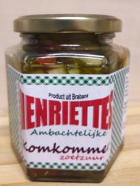Henriëttes komkommer zoetzuur 390 ml