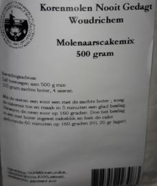 Molenaarscakemix  500 gr. Nooit Gedagt