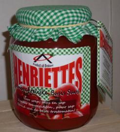 Henriëttes biologische basissaus soep 700 ml
