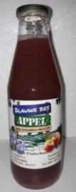 Blauwe bes-appelsap De Fruitschuur 0,75 ltr