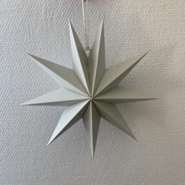 Papieren kerstster grijs