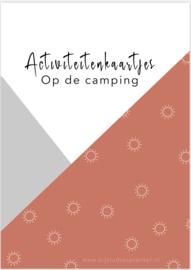 Activiteitenkaartjes 'Op de camping'