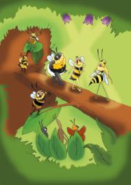 Wilde bijen parade