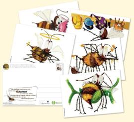 Bijen ansichtkaartenset