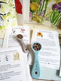 Kittyblumkaart: nr 3  Veldbloemen