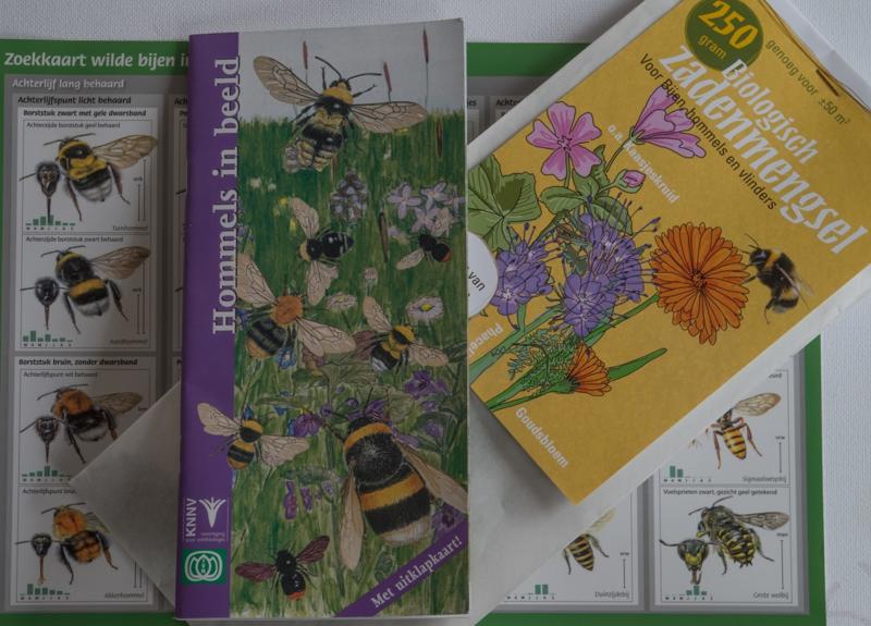 Zaai en bijen- en hommel tel pakket M(edium)