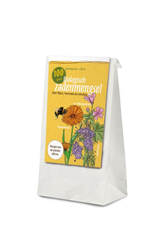 Gifvrij zadenmengsel voor bijen  100 gram