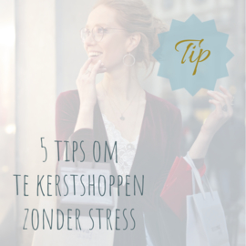 5 tips om te kerst shoppen zonder stress