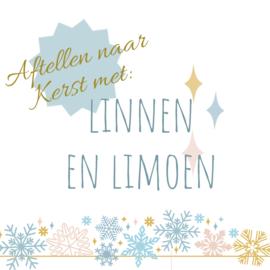 Aftellen naar Kerst met Linnen en limoen - nog 3 weken