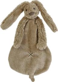 Knuffel doekje konijn Richie bruin