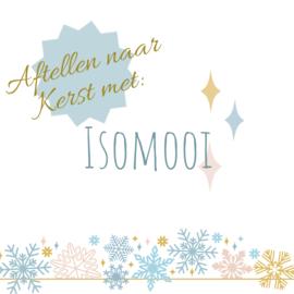Aftellen naar Kerst met Isomooi - nog 5 weken