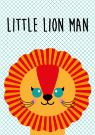 Postkaart little lion man