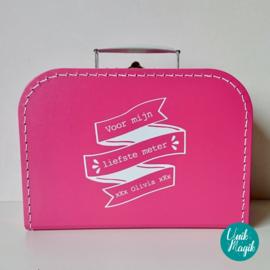 Koffertje mijn liefste ...