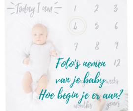 Foto's nemen van je baby, hoe begin je er aan?