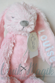 Knuffel konijn Richie roze