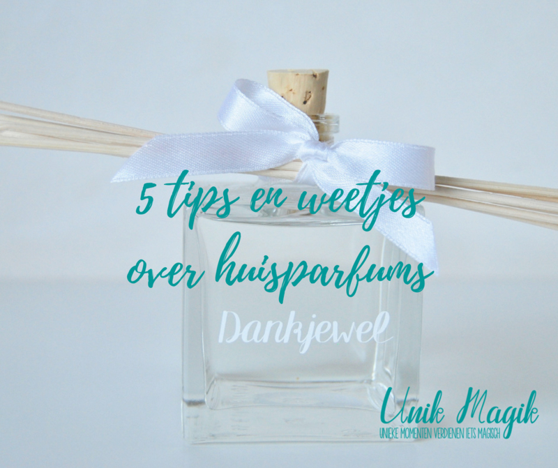 5 tips & weetjes over huisparfums